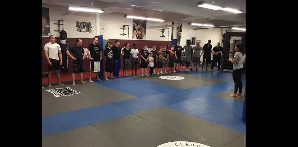 Claudia Gadelha's new MMA gym