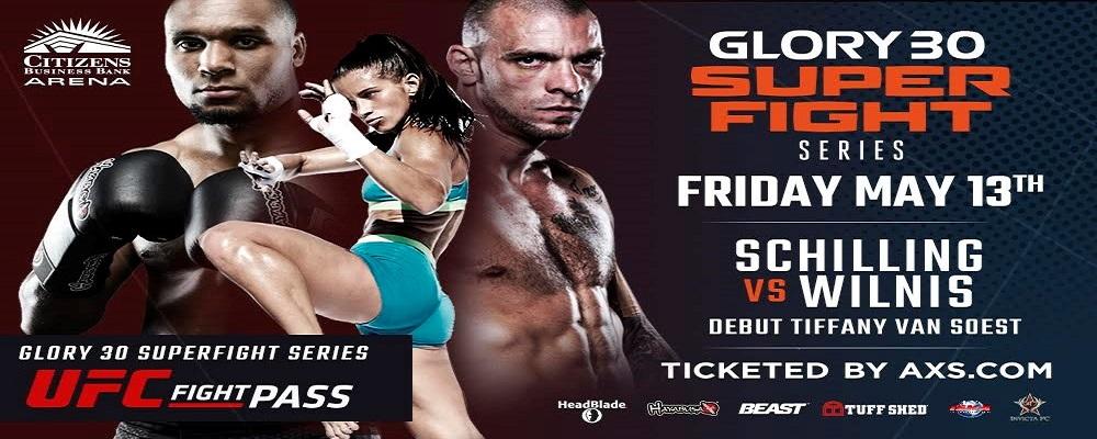 Joe Schilling vs Jason Wilnis Headlines GLORY 30 SuperFight Series