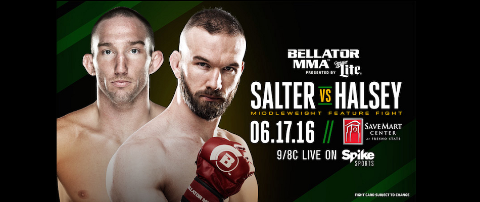 Halsey-Salter Added to Bellator 156 – June 17 in Fresno