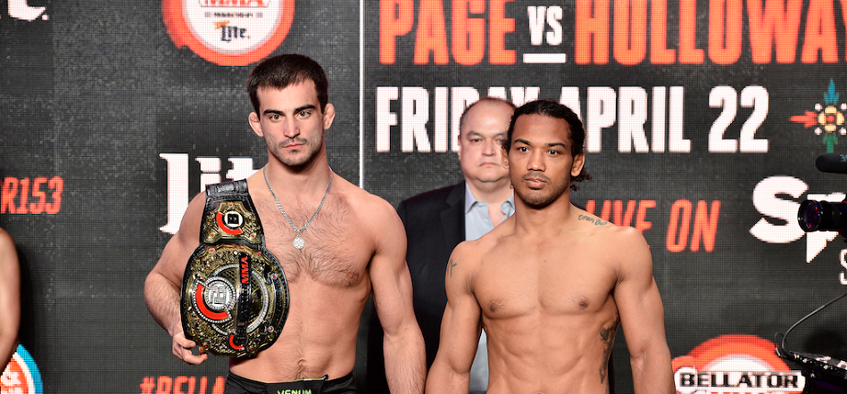Bellator 153 Results:  Koreshkov Pummels Henderson For Five