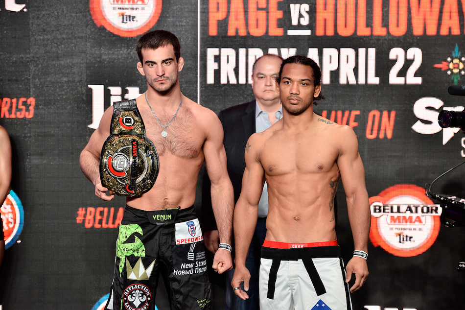 Bellator 153 weigh-ins