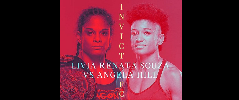 Livia Renta Souza Defends Strawweight Title Against Angela Hill