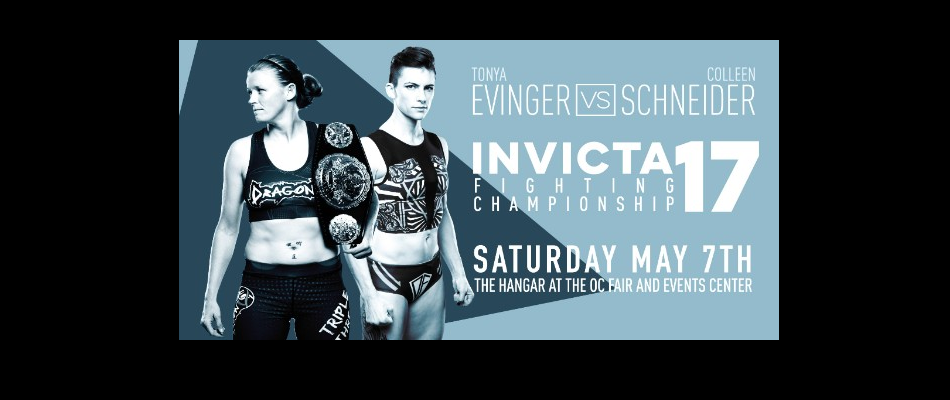 Invicta FC 17 lands at the Hangar in Costa Mesa, May 7