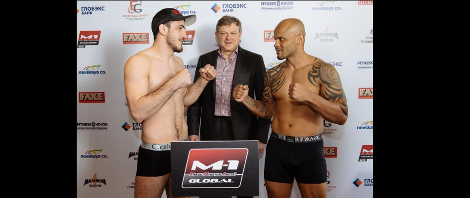 M-1 Challenge 65 Official Weights from St. Petersburg, Russia