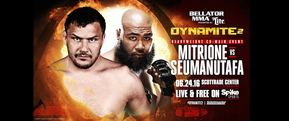 Matt Mitrione's Promotional Debut is Set, Debut at 'Bellator: Dynamite 2'