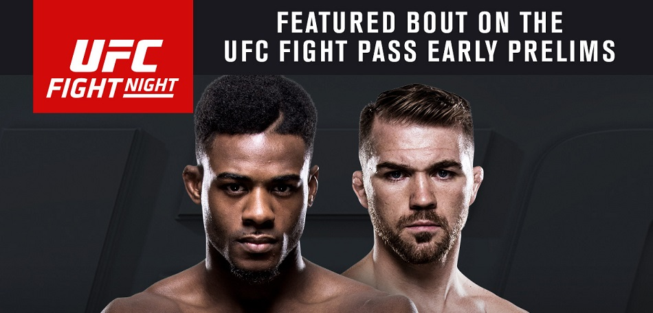 Aljamain Sterling vs Bryan Caraway headlines on UFC Fight Pass