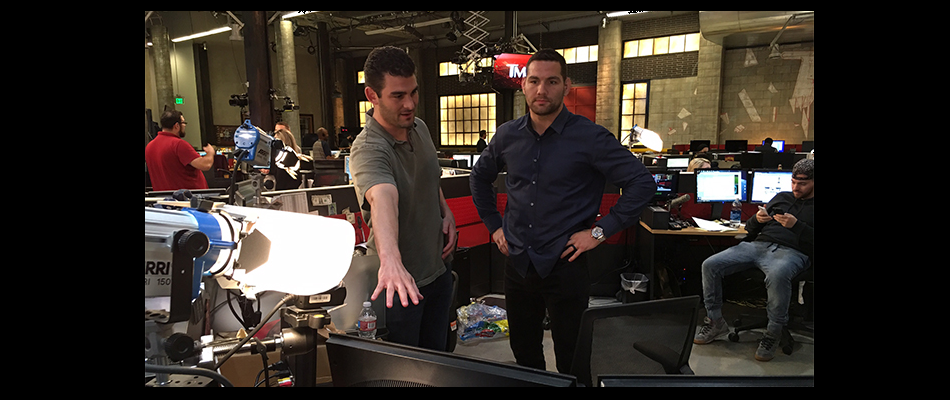 WATCH:  Chris Weidman hosts TMZ Sports tonight