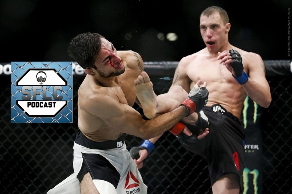 SFLC Podcst – Episode 135: James Vick talks UFC 199 bout with Beneil Dariush