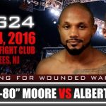 Desmond Moore fights at GPG 24