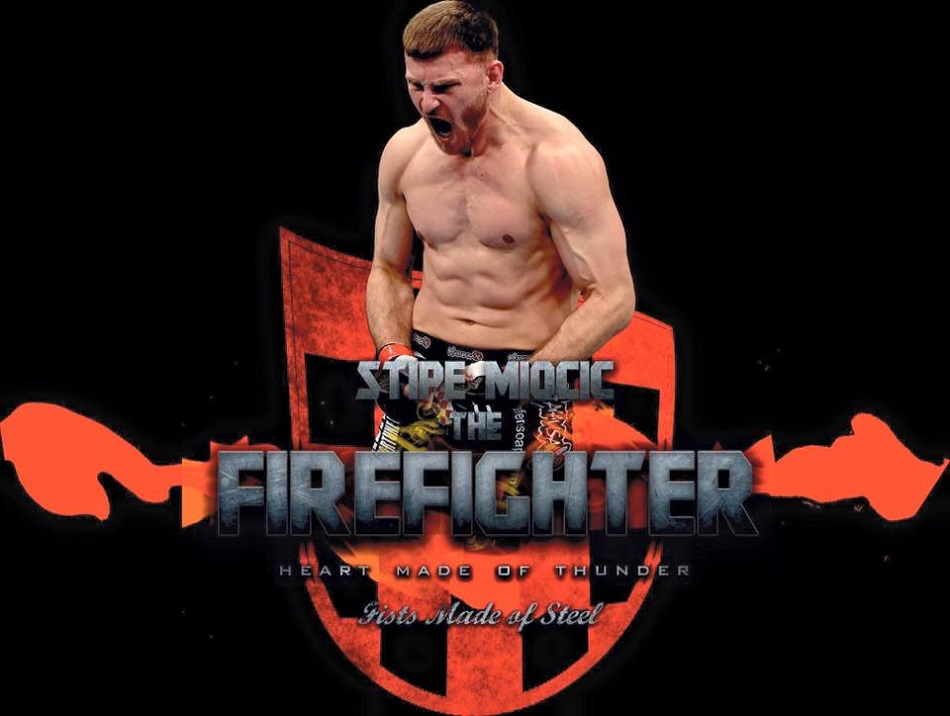 UFC Heavyweight Champ Stipe Miocic to continue work as firefighter