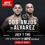 UFC Fight Night - Dos Anjos vs Alvarez