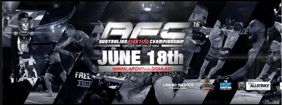 Australian Fighting Championship – AFC 16 Preview