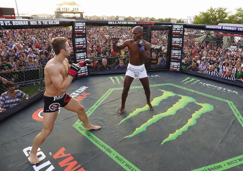 Monster Energy Signs Extension as Bellator's Official Energy Drink Partner