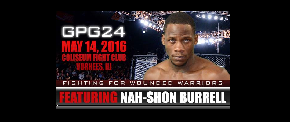 Nah-Shon Burrell Discusses Fighting for the GPG Middleweight Title