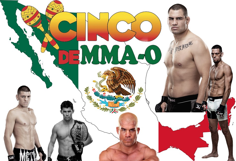 Happy Cinco de MMA-O – The Top 5 Best Mexican MMA Fighters Ever