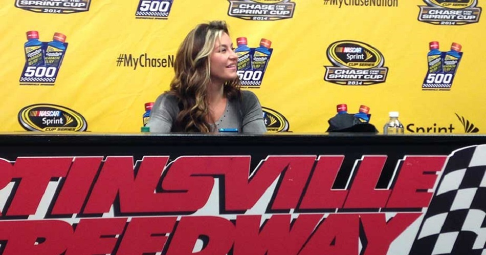 Miesha Tate to Serve as Grand Marshal for NASCAR Race