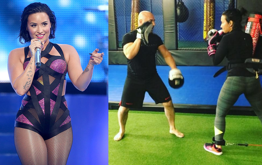 Demi Lovato is training mixed martial arts