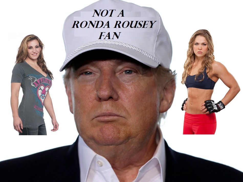 Donald Trump not a Ronda Rousey fan
