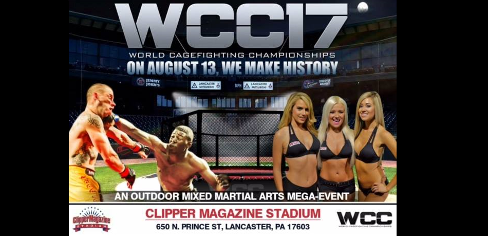 WCC 17 - World Cagefighting Championships