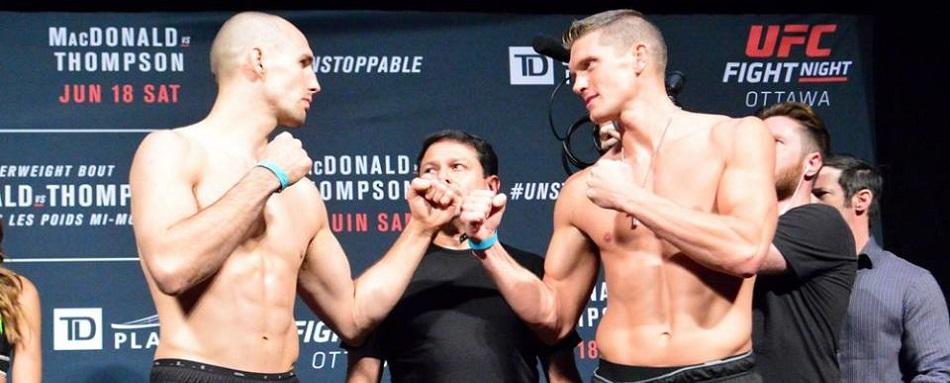 UFC Fight Night Ottawa weigh-in results