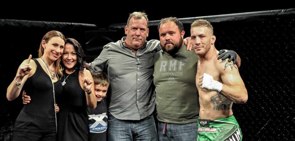 Scott Heckman gets the win at X Fights 2