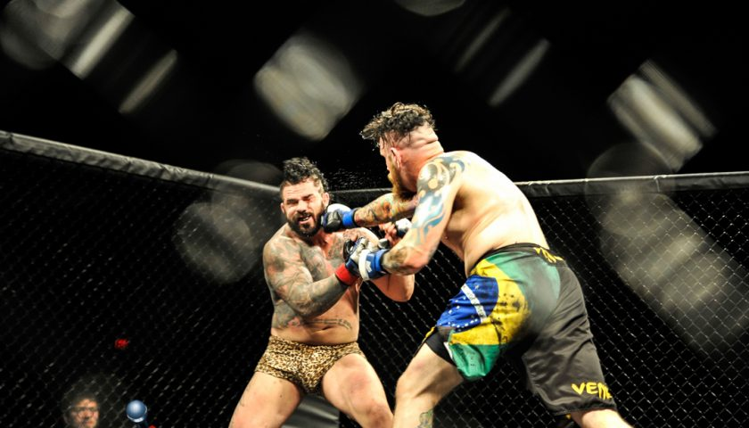 Jon Tuxford jacked up for Adam Atiyeh rematch and his belt at Art of War 3