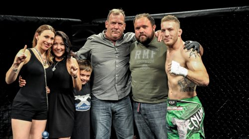 Scott Heckman addresses, embraces new life role that led to born again fighter