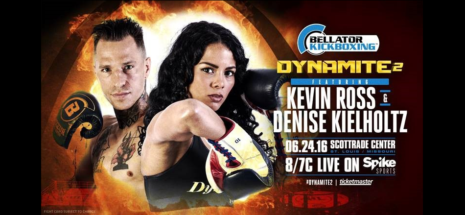 Two Explosive Bellator Kickboxing Fights Added to Dynamite on June 24