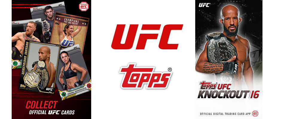 UFC and Topps launch Knockout 16 digital trading card app