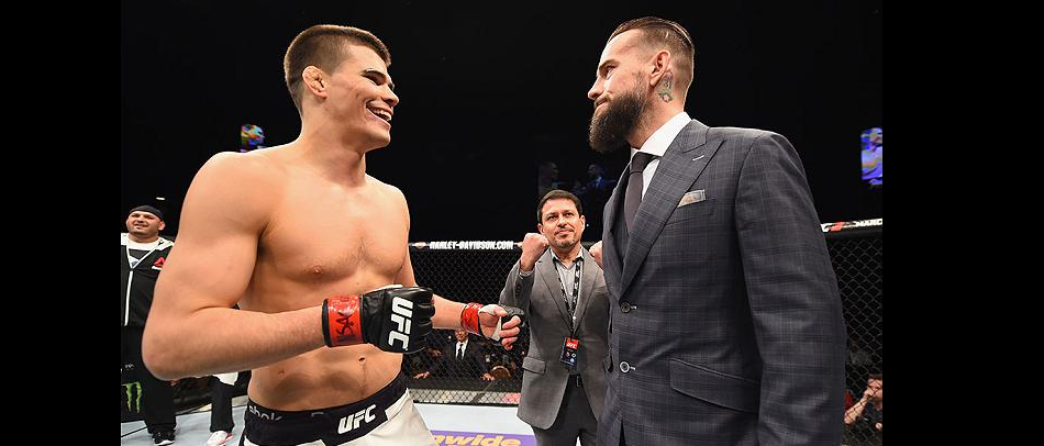 CM Punk vs Mickey Gall is set for UFC 203