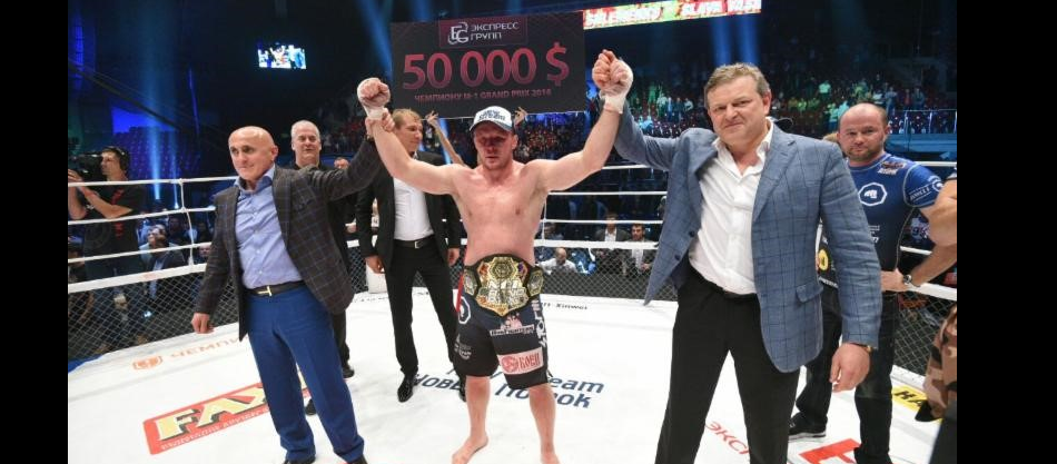 Shlemenko submits Vasilevsky to capture M-1 Grand Prix MW championship