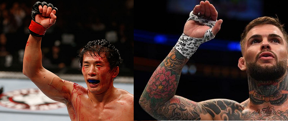 Takeya Mizugaki vs Cody Garbrandt set for UFC 202