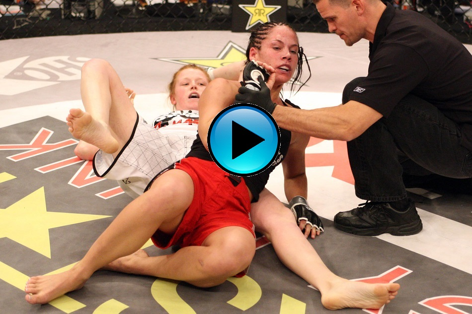 #FreeFightFriday – Tonya Evinger vs. Julie Kedzie
