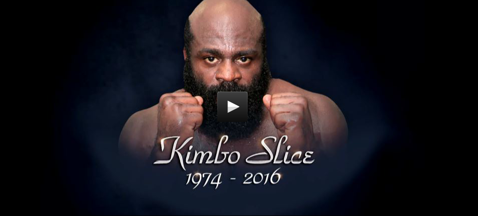 UFC pays Tribute to Kimbo Slice