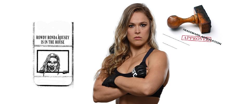 Ronda Rousey Applies For Strange New Trademark