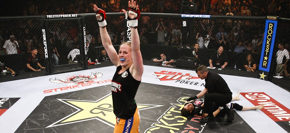 Former Strikeforce champ Sarah Kaufman released from UFC