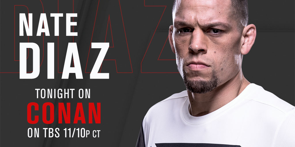 Nate Diaz on Conan