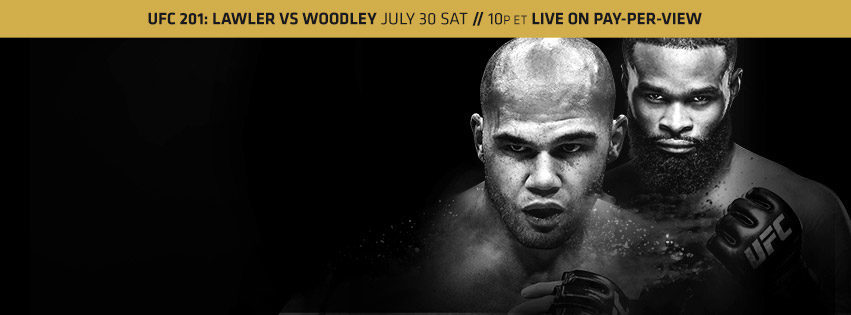 UFC 201 Results:  Lawler vs. Woodley