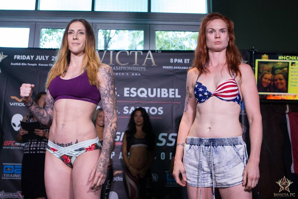 Megan Anderson vs Peggy Morgan- Invicta FC 18