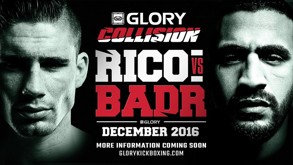 Prepare for Impact:  Rico Verhoeven battles Badr Hari at GLORY: Collision