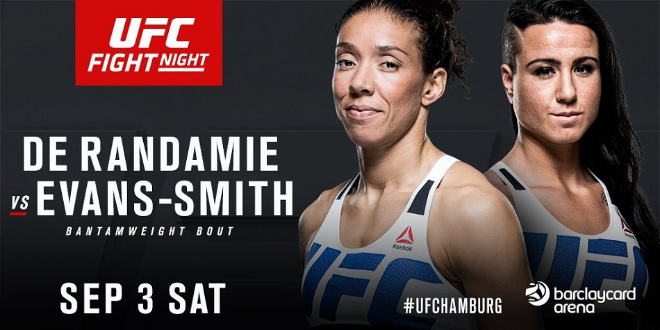 Ashlee Evans-Smith vs Germaine de Randamie added to Germany card