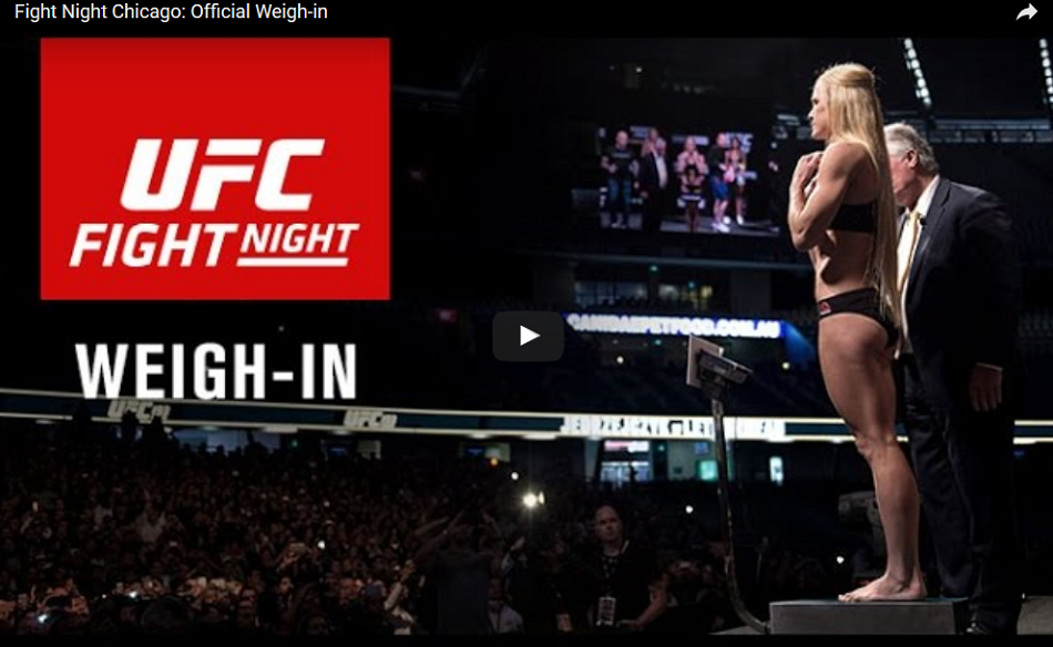 UFC on FOX 20 weigh-ins