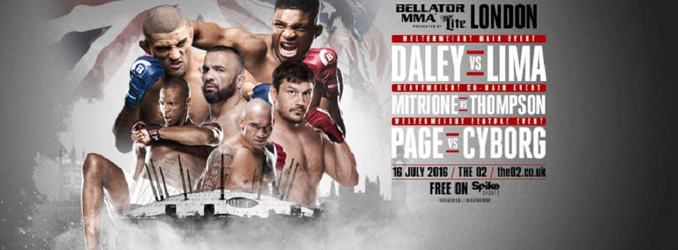 Bellator to Receive Regulatory Support For 'Bellator 158: London'
