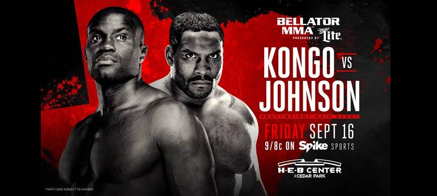 Bellator 161 results:  Kongo vs. Johnson