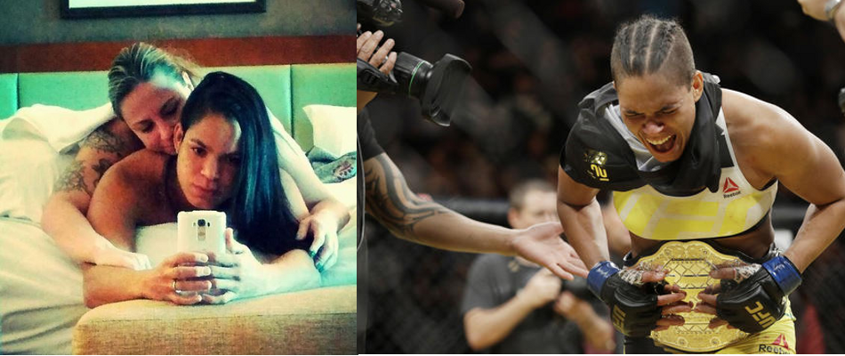 Amanda Nunes is the first openly gay UFC champion