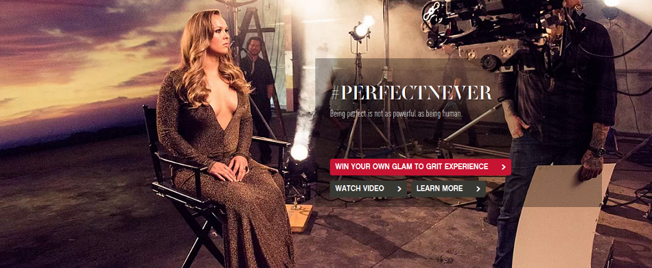 #perfectnever – New Ronda Rousey campaign
