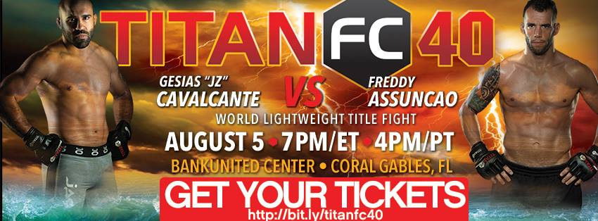 Titan FC 40 results – Cavalcante vs Assunção on UFC Fight Pass