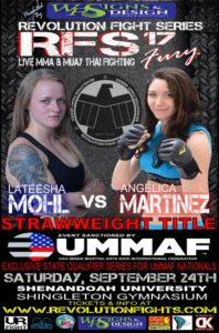 Lateesha Mohl vs Angelica Martinez at RFS 17