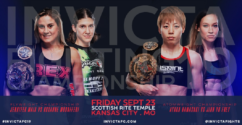 Invicta FC returns on September 23 with two title fights