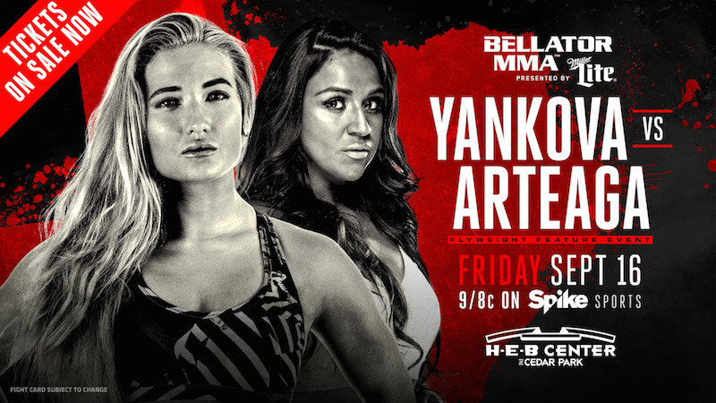 Anastasia Yankova Set for U.S. Fighting Debut During Main Card of Bellator 161